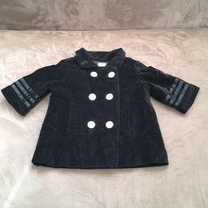 Baby Gap Girls velvet jacket
